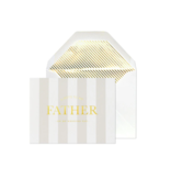 Sugar Paper Note To Father Greeting Card