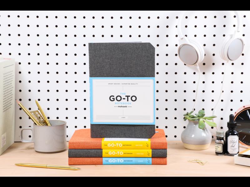 Chronicle Books Slate Grey Go-to Notebook