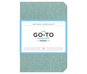 Sage Blue Go-to Notebook