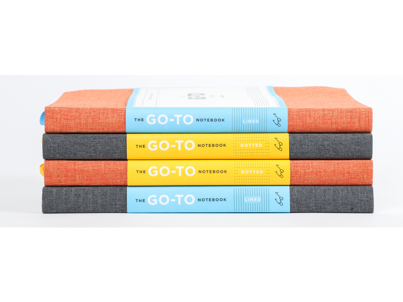 Chronicle Books Sage Blue Go-to Notebook