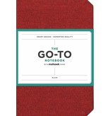 Chronicle Books Brick Red Go-to Notebook