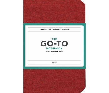 Brick Red Go-to Notebook