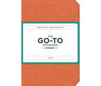 Persimmon Orange Go-to Notebook