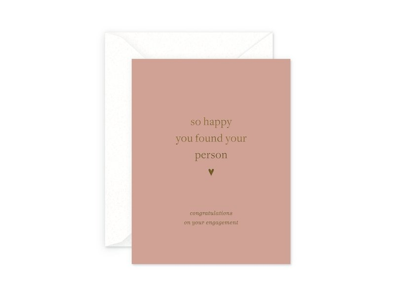 Smitten on Paper Your Person Engagement