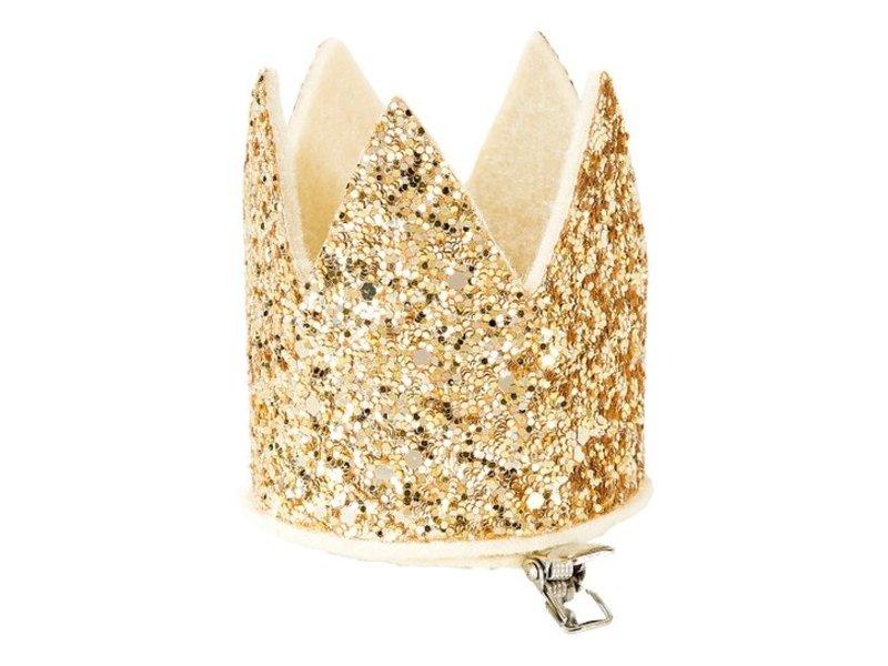 Talking Tables Gold Glitter Mini Party Crown