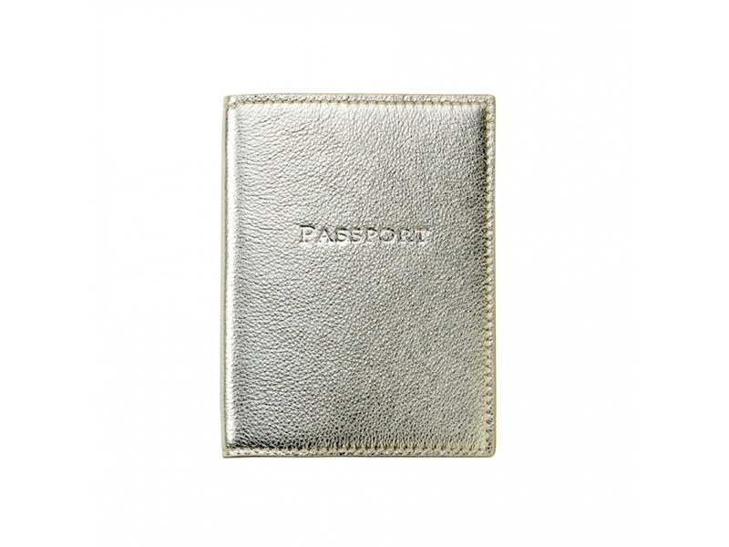 Graphic Image Inc. White Gold Morocco Passport Cover