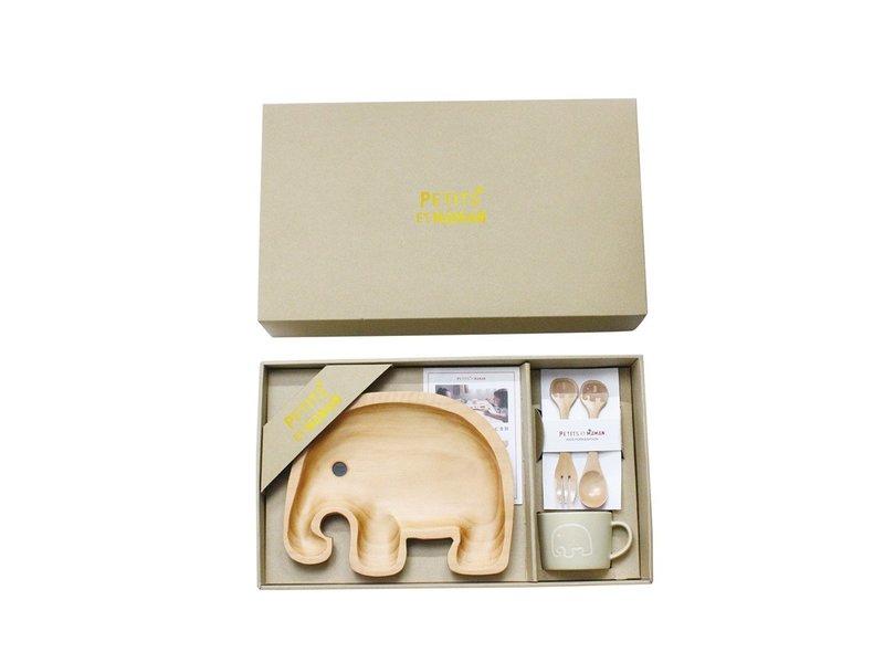 Time Concept Petits et Maman Elephant Dinnerware Set