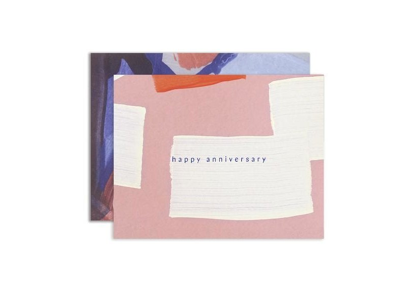 Moglea Sunset Anniversary Greeting Card