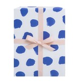 Our Heiday Cobalt Gift Wrap Roll