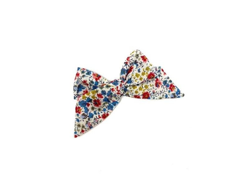 Lululuvs Baby Tied Bow - Liberty Fall Floral