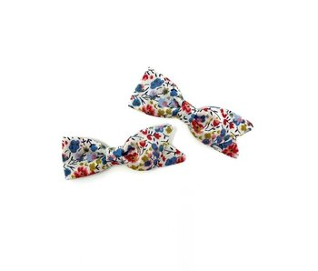 Petal Pigtail Bows - Set of 2 - Liberty Harvest Floral