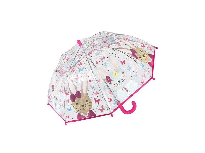Floss and Rock Bunny Umbrella