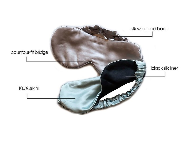 Branche Beauty Eye Mask Nuit Eye Masque Silver