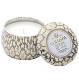 Voluspa Suede Blanc Mini Decorative Tin