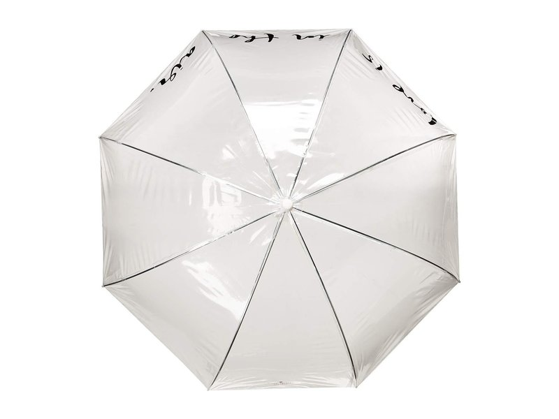 Kate Spade by Lifeguard Press Umbrella Clear Love Is in the Air