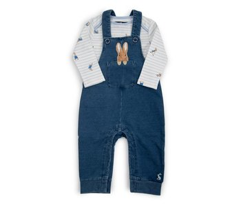 Wilbur Denim Peter Rabbit Dungaree Set