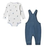 Joules Wilbur Denim Peter Rabbit Dungaree Set