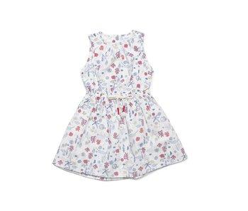 Seaside Cheryl Ivory Print Dress