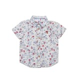 EGG by Susan Lazar Seaside Adrian Ivory Print Shirt