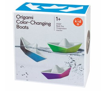Origami Color Changing Bath Boat