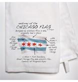 Dishique Chicago Flag Hand Towel