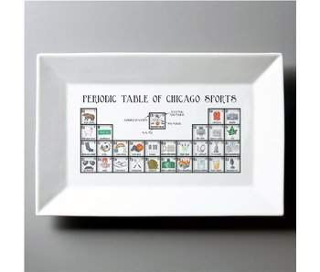 Chicago Sports Periodic Table Platter