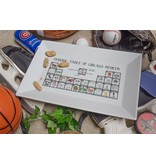 Dishique Chicago Sports Periodic Table Platter