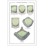 cape horn Illustrations Ballparks of the North Side Print