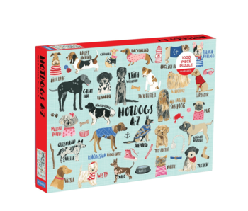Hot Dogs 1000 Piece Puzzle