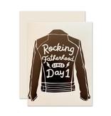 The Social Type Rocking Fatherhood Greeting Card