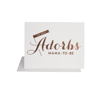 Adorbs Mama To Be Baby Card
