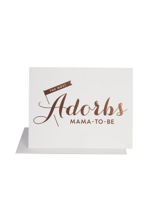 Adorbs Mama To Be Baby Card