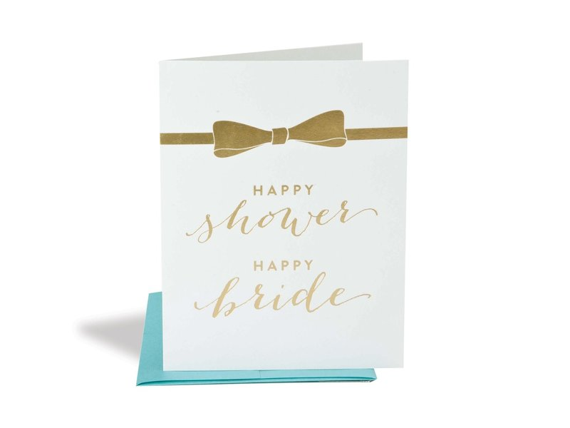 The Social Type Happy Shower Happy Bride Wedding Card