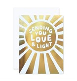 The Social Type Love & Light Greeting Card