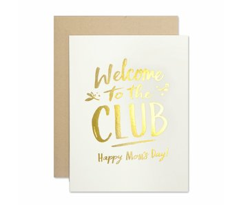 Mom Club Greeting Card