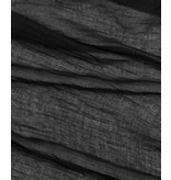 Echo Design New York Solid Crinkle Black Scarf