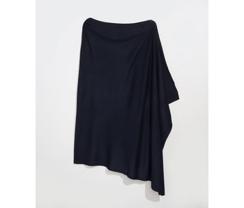An Everyday Navy Poncho