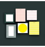 Smitten on Paper Yellow Dot Chunky Notepad