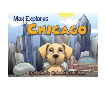 Max Explores Chicago Book