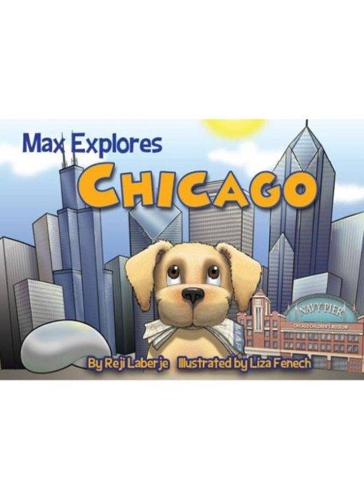 Max Explores Chicago Book