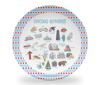 Chicago Alphabet Children's Plate