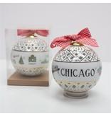 Dishique Chicago Christmas Ornament