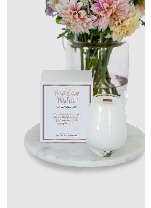 Wedding Wishes Candle