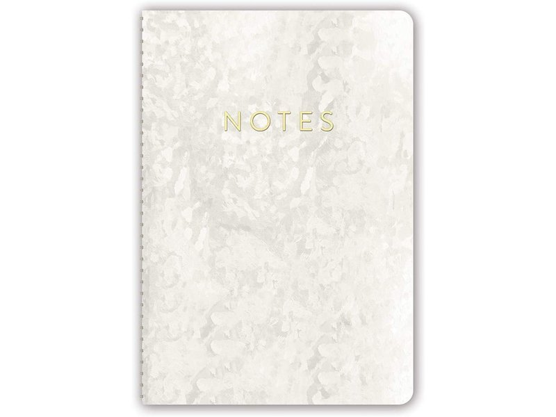 Studio Oh Pearl Leatherette Spiral Journal
