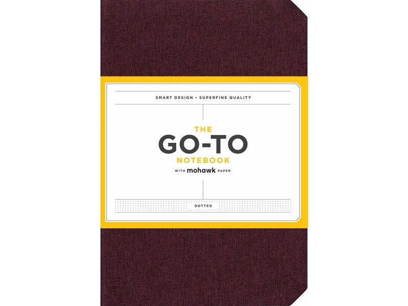 Chronicle Books Mulberry Wine Go-to Notebook