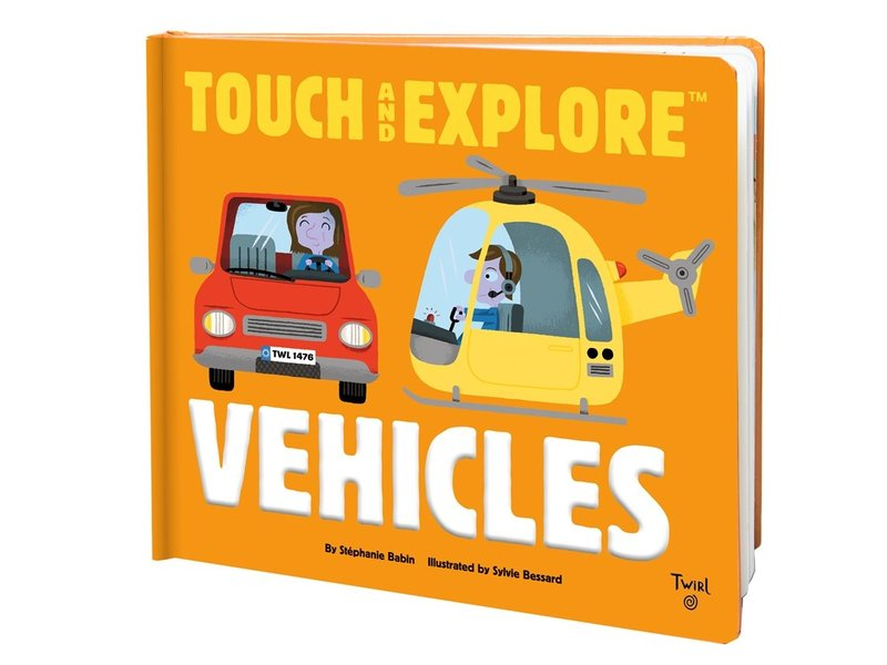Chronicle Books Touch and Explore: Vehicles