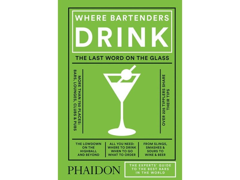 Phaidon (Hachette) Where Bartenders Drink