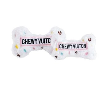 White Chewy Vuiton Bone
