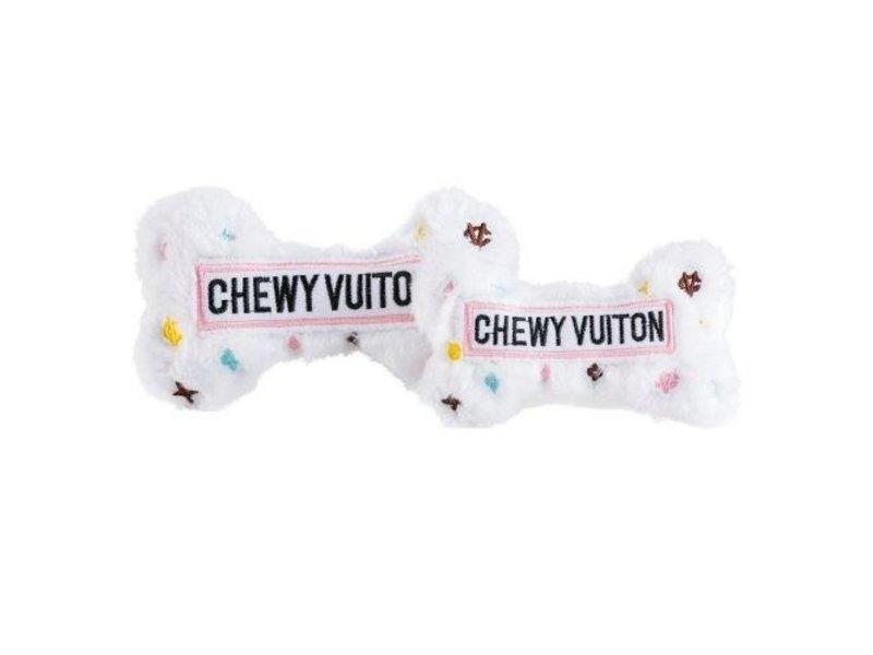 Haute Diggity Dog White Chewy Vuiton Bone