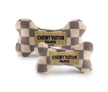 Chewy Vuiton Checker Bone